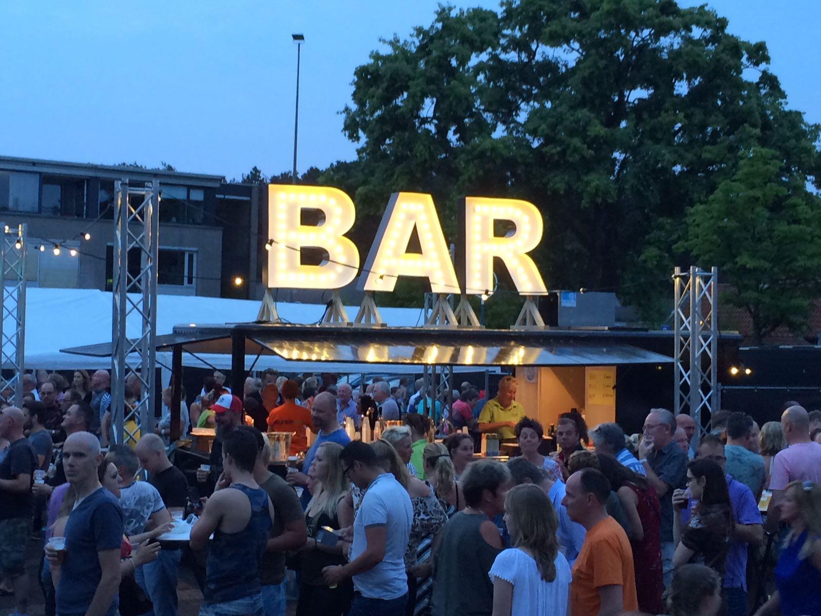 Bar met koelcel
